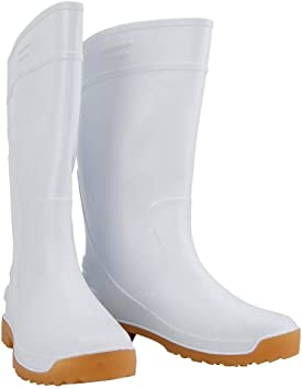 Botas de Lluvia Minera, Botas de Trabajo de Alta Resistencia a Prueba de Agua, Resistentes a los Productos Químicos, Zapatos de Seguridad de Pvc, botas Altas Protectoras(41码): Amazon.es: Bricolaje y herramientas