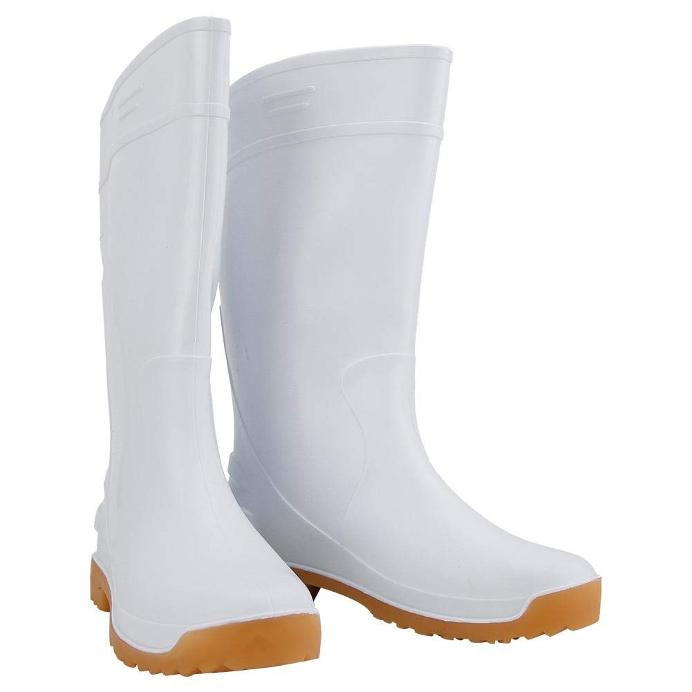 PVC Waterproof Chemical Resistant Industry Protective High Work Boots(41)