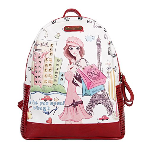 nicole-lee-fashion-backpack-shopping-girl-one-size