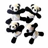 Connia Kitchen Supplies 1Pc Cute Soft Plush Panda Fridge Magnet Refrigerator Sticker Gift Souvenir Decor
