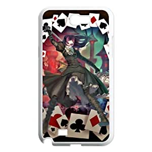 DIY Stylish Printing Alice Madness Returns Cover Custom Case For Samsung Galaxy Note 2 N7100 MK1Q882452