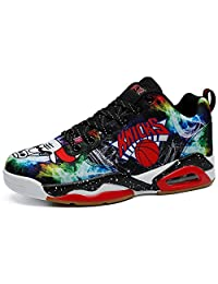 COSDN Women's Men's Fashion Air Cushion Shock Absorption Basketball Shoes Athletic Running Youth Tennis Sneakers