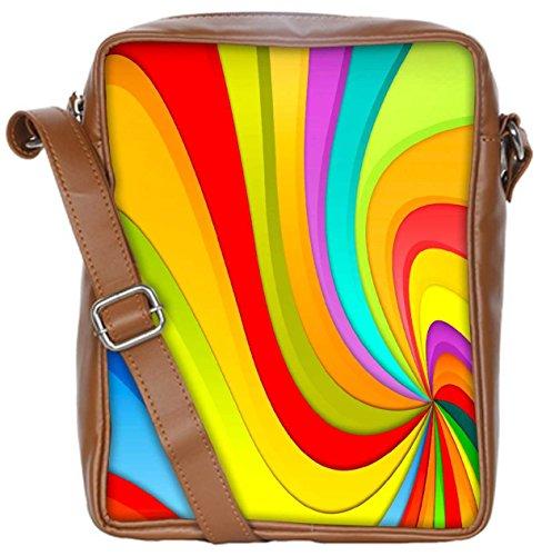 Snoogg Bolso Para Mujer Multicolor Cruzados Av7nqa18A
