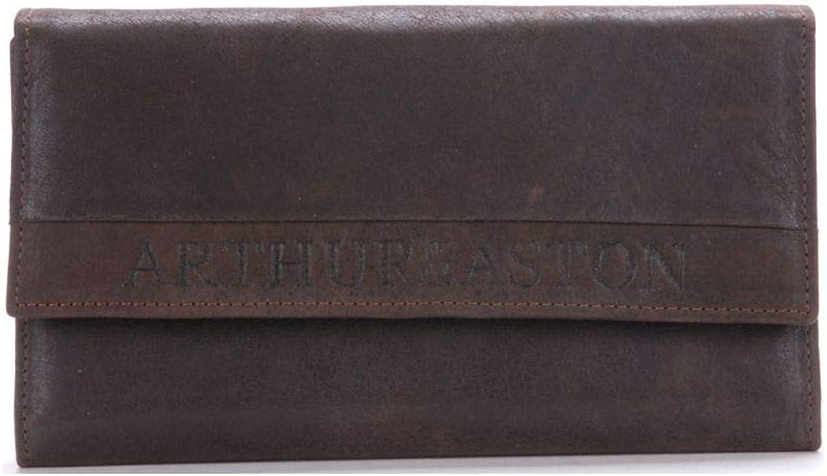 Portefeuille ch/équier homme en cuir 1438-455 taille 11 cm Arthur et Aston