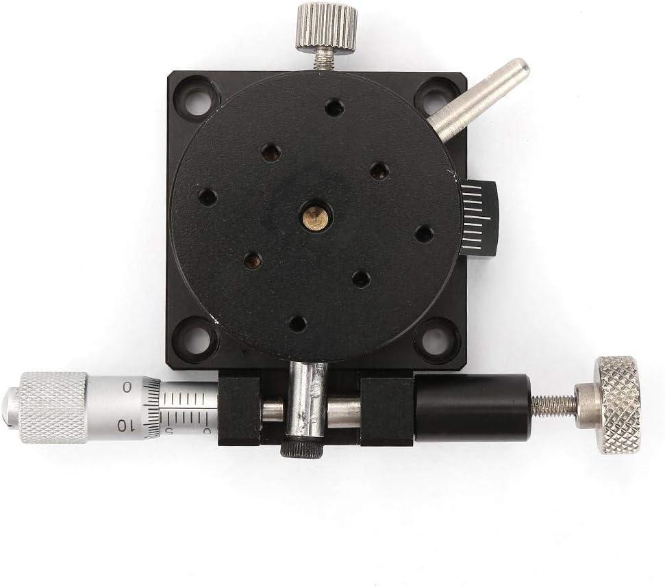 R38 Manual Rotation Stage Rotating Platform Precision Bearing Sliding Tuning Stage 38mm20mm PENFU Roller Bearing Bearing Sliding Tuning Stage