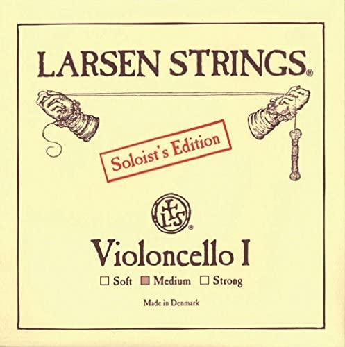 Larsen Violoncello I - A Chrome Steel SOLOIST'S EDITION 4/4 strong