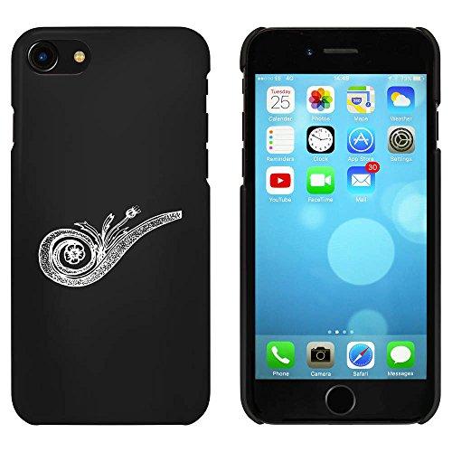 Noir 'Tourbillon Décoratif' étui / housse pour iPhone 7 (MC00062749)