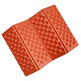 Portable Folding Waterproof Mat Seat for Outdoor Sport Camping Picnic Set Pads Cushion 6 Color (Orange)