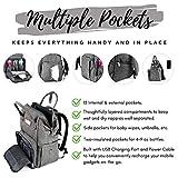 BabyBliss Diaper Backpack Bag - Waterproof