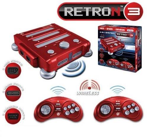 NES/SNES/GENESIS互換機 RETRON3 並行輸入 B00729T7F6