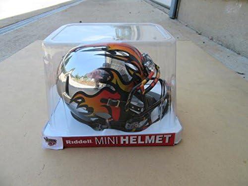 Los Angeles KISS Football Mini Chrome Helmet