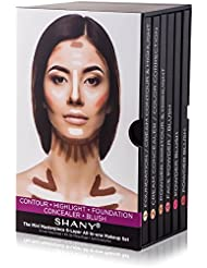 SHANY The Mini Masterpiece 6 Layers Foundation, Concealer...