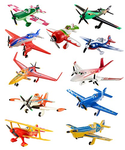 Disney Planes Diecast Plane Collection  11 Pack