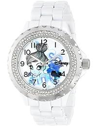 Disney Women's W000997 Tinker Bell White Enamel Watch