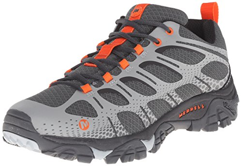 Merrell Men's Moab Edge Shoes, Grey, 9.5 M US (Best Slot Canyon Hikes In Utah)