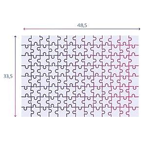 Clementoni Supercolor Mordillo The Balance 104 Pezzi Made In Italy 6 Anni Puzzle Cartoni Bambino 27134