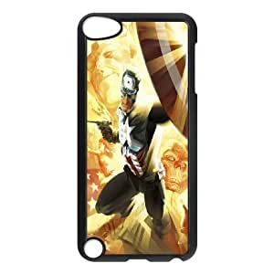 Custom High Quality WUCHAOGUI Phone case Caption American Pattern Protective Case FOR Ipod Touch 5 - Case-1