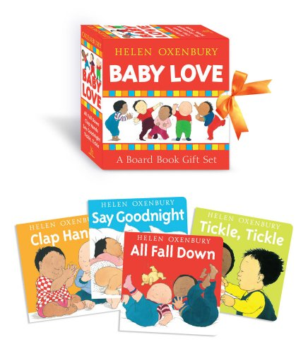 Baby Love: A Board Book Gift Set/All Fall Down; Clap Hands; Say Goodnight; Tickle, - Inch 0 Set