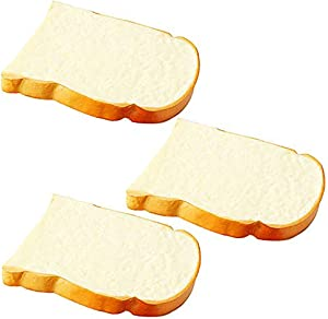 Artificial Bread Fake Bread Simulation Food Model Kitchen Prop (Toast)
