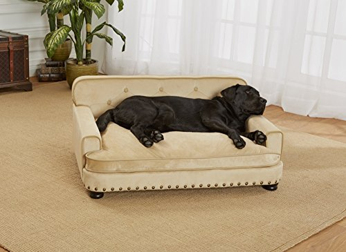Enchanted Home Pet Ultra Plush Library Pet Sofa by Enchanted Home Pet