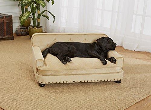 Enchanted Home Pet Ultra Plush Library Pet Sofa
