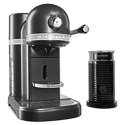 Image of KitchenAid KES0504SZ Nespresso Bundle, Slate Home and Kitchen