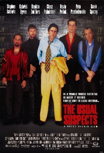 Usual Suspects Movie Poster 2ftx3ft