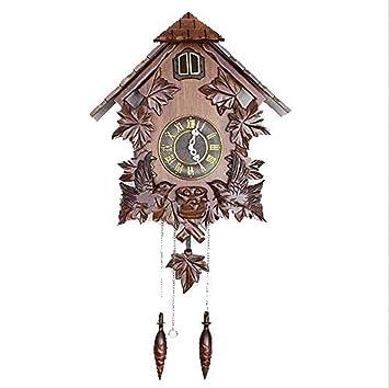 Reloj De Cuco del Reloj De Cuco Chino De La Vendimia - Reloj De Pared De Talla ...