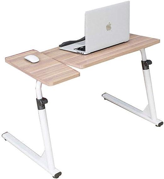 NSHUN Escritorio portátil para computadora, con Ruedas, Ajustable ...