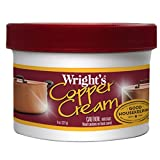 Copper Sink Cleaner Wrights Copper Cream - For Cleaning and Polishing Pots, Sinks, Mugs, Hardware, Pans and More - 8 fl. Oz.