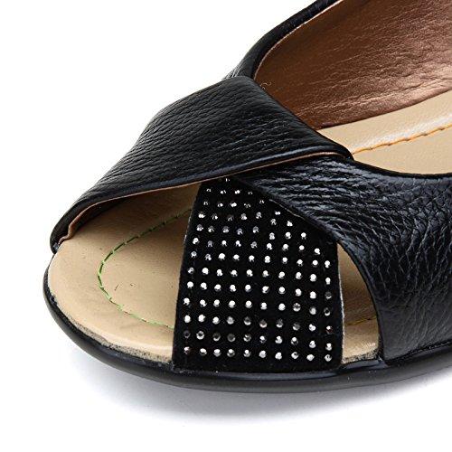 EU coloré Noir ZHRUI Taille Bleu Chaussures 41 HRwq4z
