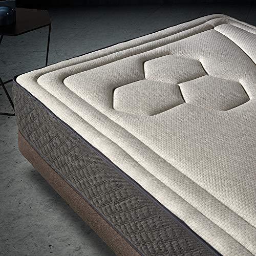 Colchón 90x190 muelles ensacados Memory Vex Spring de Altura 26cm, 7 cm de ViscoVex Grafeno de Komfortland: Amazon.es: Hogar