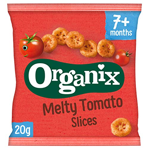 Organix Melty Tomato Slices 20 g (Pack of 8)