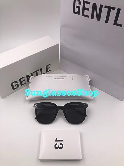 14b9d7bbf Amazon.com : Gentle Monster Sunglasses Jack Bye Black Frame Black Zeiss  Lenses With Origianl Package Sets : Everything Else