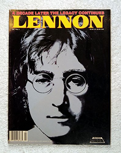 John Lennon (The Beatles) - Masters of Rock Magazine - Issue #2 - 1990