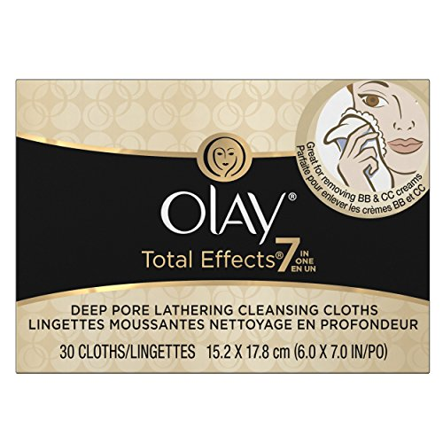 Olay Total Effects Lathering Cleansing Cloths 30 (Pore Cleansing Cloths)