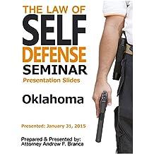 Law of Self Defense Seminar: Oklahoma: Booker TX: January 31, 2015