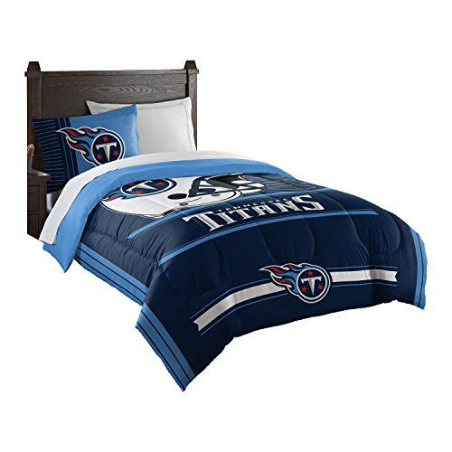 Officially Licensed NFL New England Patriots Safety Twin Comforter and Sham