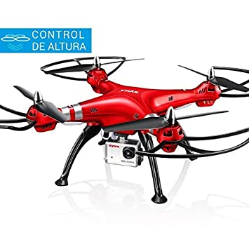 Syma X8HG Drone Rc | Control Altura | Cámara HD 8MP | Headless ...