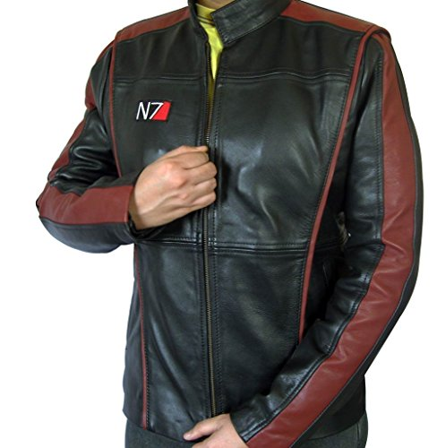 Fjackets Mass Effect 3 N7 Real Leather Jacket L