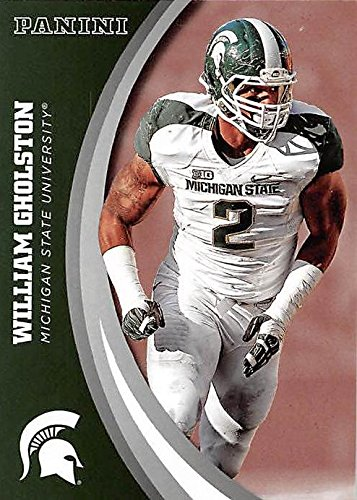 buy popular c5dba f97c6 William Gholston football card (Michigan State Spartans ...
