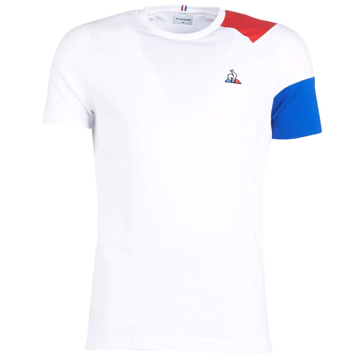 Le Coq Sportif - Camiseta ESS - 1911261 - Blanco, XXL, Extra Extra ...
