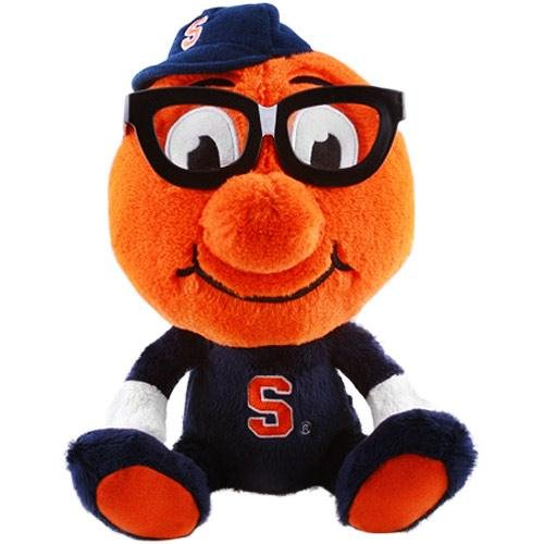 NCAA Syracuse Orange Study Buddy Plush Toy, Medium, Orange (Plush Mascot Toys Stuffed)