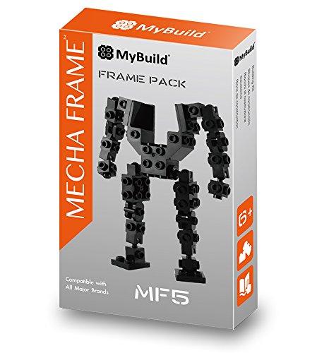 MyBuild Mecha Frame MF5 Mech Base Kit Building Toy Build Robot or Your Own Creations (Mech Model Kit)