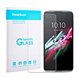 Innker for Alcatel OneTouch Idol 3 5.5'' Screen Protector [Cutout for Proximity Sensor] Glass Screen Protector 0.26mm Anti-Scratch/ Easy Install Alcatel OneTouch Idol 3 5.5 Tempered Glass