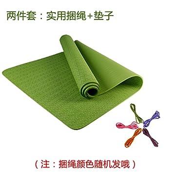 YOOMAT Esterilla de Yoga Engrosamiento y alargamiento Anti ...