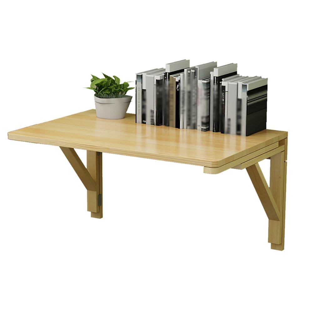 折り畳みテーブルダイニングテーブル壁掛けコンピュータデスクサイドテーブルソリッドウッド壁掛け折り畳み式デスク (サイズ さいず : 120*50cm) B07DNM7SL8 120*50cm 120*50cm