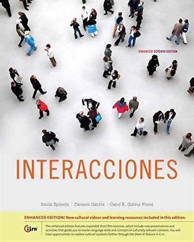 Interacciones, Enhanced (World Languages) by Heinle