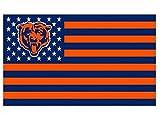 NFL Chicago Bears Stars and Stripes Flag Banner - 3X5 FT - USA FLAG