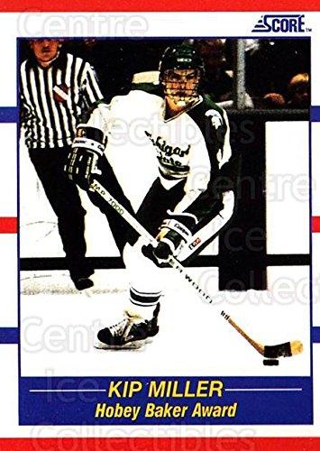 Kip Miller Hockey Card 1990-91 Score USA #330 Kip Miller
